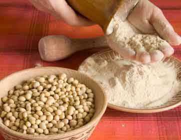 Unlocking the health benefits of soy flours